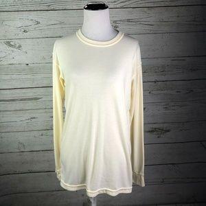 Patagonia Vintage USA Capilene Cream Ivory T-Shirt